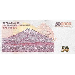 IRAN 500.000 Riyal 2018 UNC -P.NEW