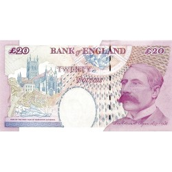 GREAT BRITAIN 20 Pound 2004 UNC - P.390b Sing: A. Bailey
