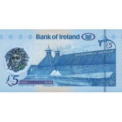 NORTHERN IRELAND 5 Pound 2017 UNC - P.NEW